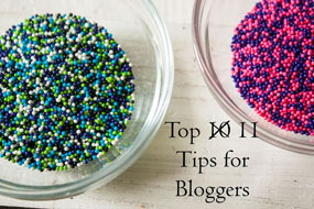 top 10 tips for bloggers